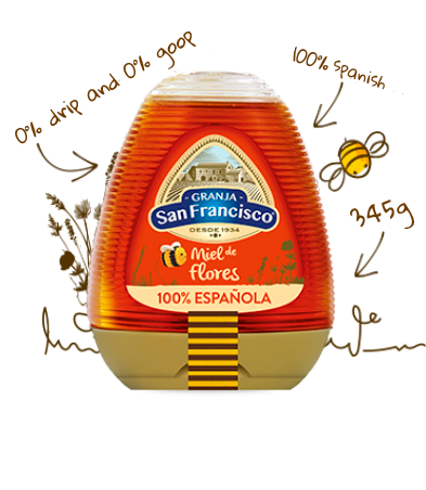 Blossom Honey 100%  Spanish 345g