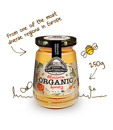 Blossom Organic Honey 100% ecological